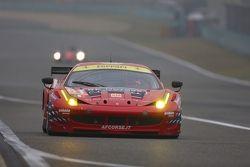 #61 AF Corse-Waltrip Ferrari F458 Italia: Robert Kauffman, Rui Aguas, Marco Cioci