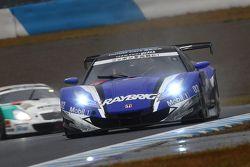 #100 Team Kunimitsu Honda HSV-010 GT: Takuya Izawa, Naoki Yamamoto