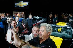 Guy Fieri and his 2013 Corvette 427 Convertible Collector Edition