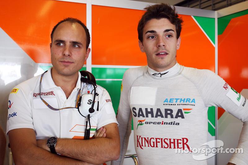 С Force India работал Жюль Бьянки…
