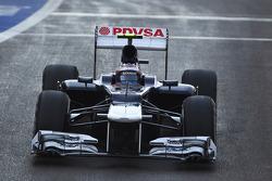 Valtteri Bottas, Williams Tercer piloto