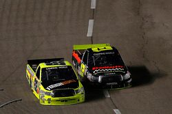 Johnny Sauter passes Matt Crafton