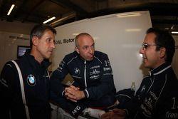 (L-R) Roberto Ravaglia,Team Roal Motorsport and Tom Coronel, BMW 320 TC, ROAL Motorsport