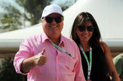 Luiz Antonio Massa, mother and father of Felipe Massa, Ferrari