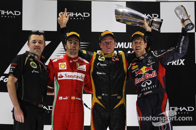 86- Fernando Alonso, 2º en el GP de Abu Dhabi 2012 con Ferrari