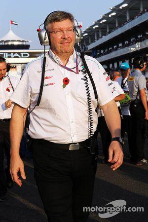 Ross Brawn, director del equipo Mercedes AMG F1