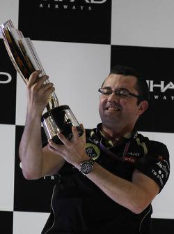 Eric Boullier, director del equipo Lotus F1