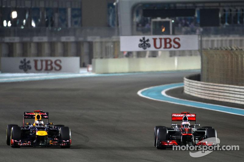 Чемпион 2009 года использовал все возможности машины, трассы и самого себя, чтобы не отдать третью позицию