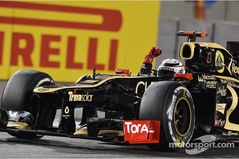 """2012 - Kimi Raikkonen, Lotus (<a href=""""http://fr.motorsport.com/f1/photos/main-gallery/?r=23204"""">Galerie</a>)"""