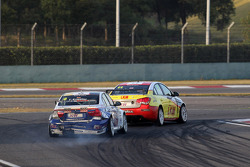 Franz Engstler, BMW 320 TC, Liqui Moly Team Engstler and Alex MacDowall, Chevrolet Cruze 1.6T, bamb