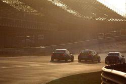 Alberto Cerqui, BMW 320 TC, ROAL Motorsport en Colin Turkington, Chevrolet Cruze 1.6T, TEAM AVIVA-C
