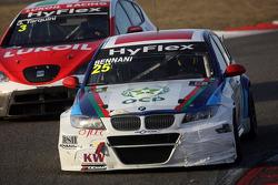 Gabriele Tarquini, SEAT Leon WTCC, Lukoil Racing Team and Mehdi Bennani, BMW 320 TC, Proteam Racing