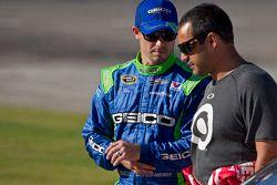 Casey Mears and Juan Pablo Montoya, Earnhardt Ganassi Racing Chevrolet