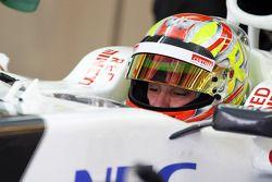 罗宾·弗林斯,2012季末青年车手测试