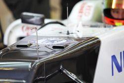 Robin Frijns, Sauber Test Driver cockpit