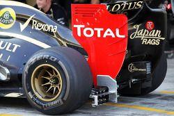 Sensoren op deLotus F1