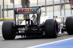 Robin Frijns, Sauber Test Driver achtervleugel