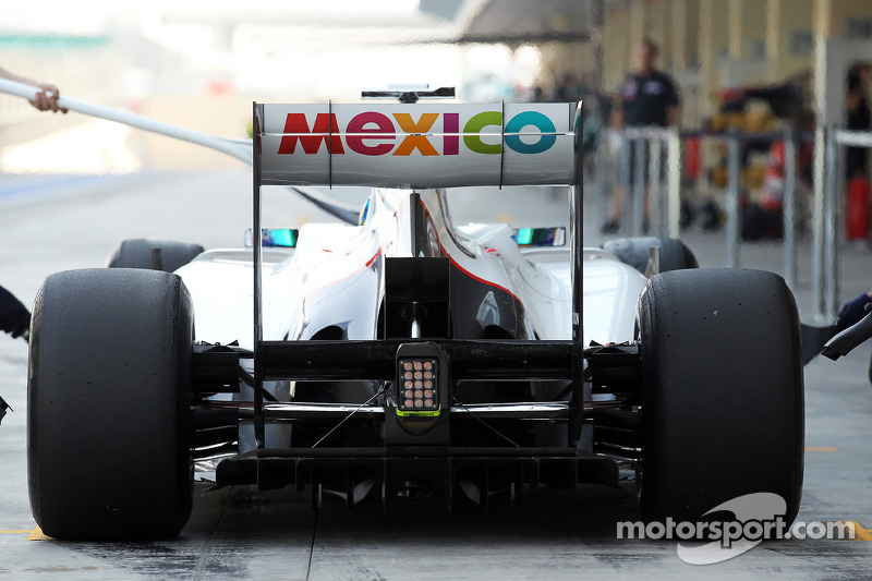 Esteban Gutierrez, Sauber derde rijder in de pits