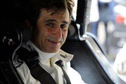 Alex Zanardi testet den BMW M3 DTM