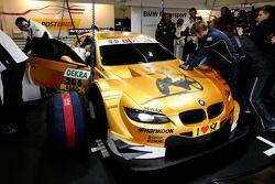 Alex Zanardi test BMW M3 DTM