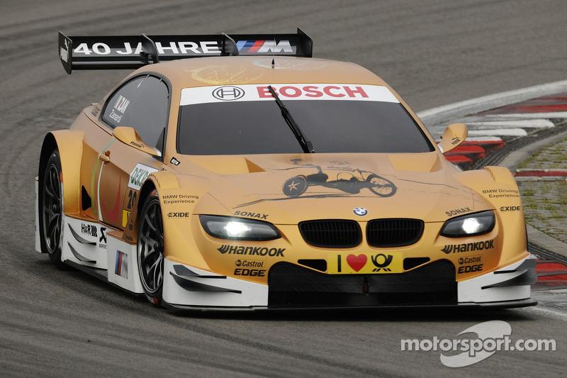 Эта BMW с одного из множества тестов Дзанарди в DTM. В гонках он выступал лишь дважды