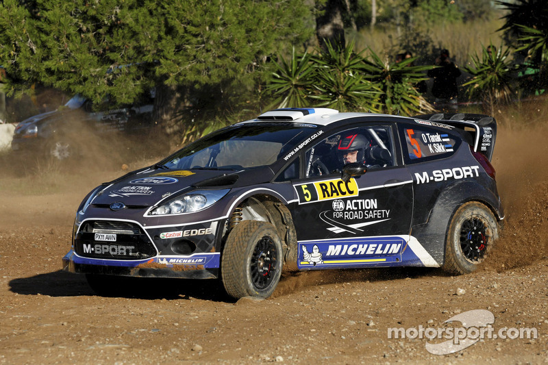 2012: Ott Tanak y Kuldar Sikk, M-Sport Ford World Rally Team, Ford Fiesta RS WRC