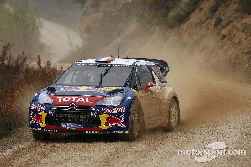 2012: Себастьен Леб, Citroën DS3 WRC