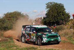 Paulo Nobre and Edu Paula, Mini John Cooper Works WRC