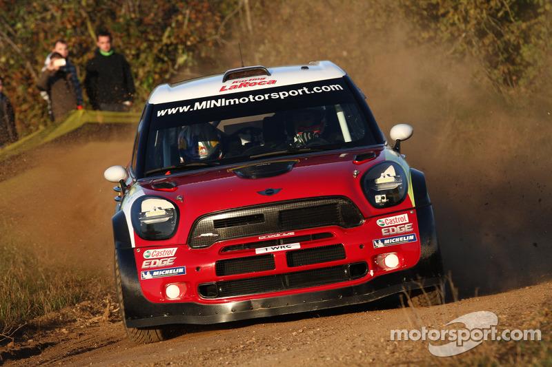 2012: Daniel Sordo y Carlos del Barrio, Mini John Cooper Works WRC, Prodrive MINI WRC TEAM