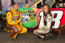 poleman Kyle Busch, Joe Gibbs Racing Toyota