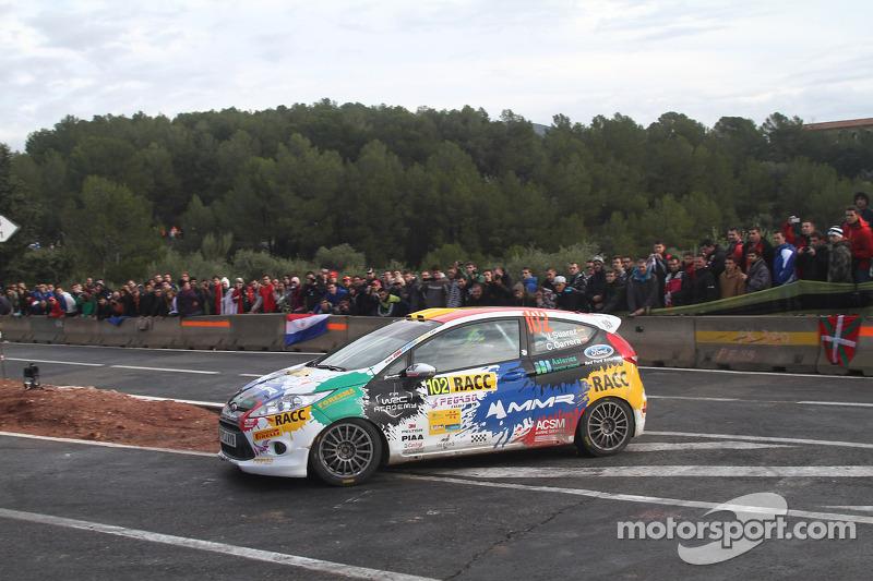 Jose Suarez en Candido Carrera, Ford Fiesta R2