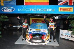 Jose Suarez and Candido Carrera, Ford Fiesta R2