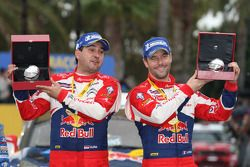 Winnaars Sébastien Loeb en Daniel Elena, Citroën DS3 WRC, Citroën Total World Rally Team