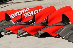 McLaren Mercedes koetswerk