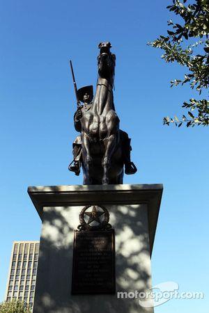 Standbeeld bij Texas Capitol in Austin