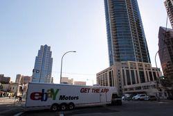 Ebay Motors truck in Austin