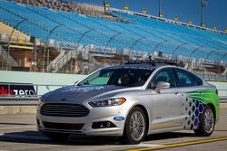 Pace car rides with Ricky Stenhouse Jr.