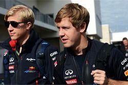 Sebastian Vettel, Red Bull Racing met Heikki Huovinen, Personal Trainer