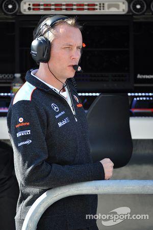 Sam Michael, McLaren Mercedes