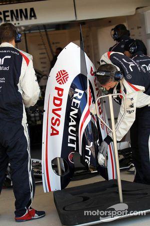 Williams motorkap