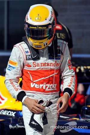 Tweede Lewis Hamilton, McLaren Mercedes