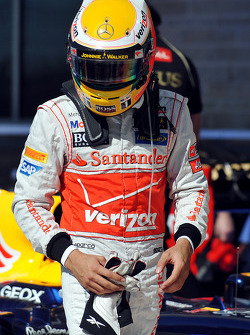Second place Lewis Hamilton, McLaren Mercedes