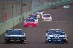 Andrew Ranger, Front Row Motorsports Ford en John Blankenship, Chevrolet