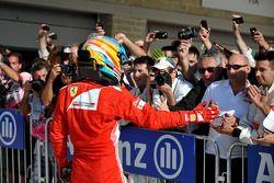Derde plaats Fernando Alonso, Ferrari