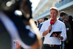 Simon Lazenby, Sky Sports F1 TV Presentator