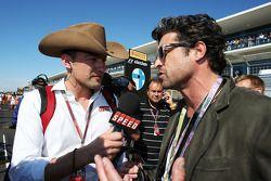 Will Buxton, Speed TV Presenter met Patrick Dempsey, acteur