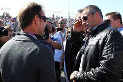 Rubens Barrichello, Williams met Matt LeBlanc, acteur