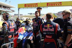 Sebastian Vettel, Red Bull Racing op de grid