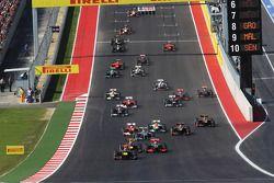 Sebastian Vettel, Red Bull Racing RB8 aan de leiding