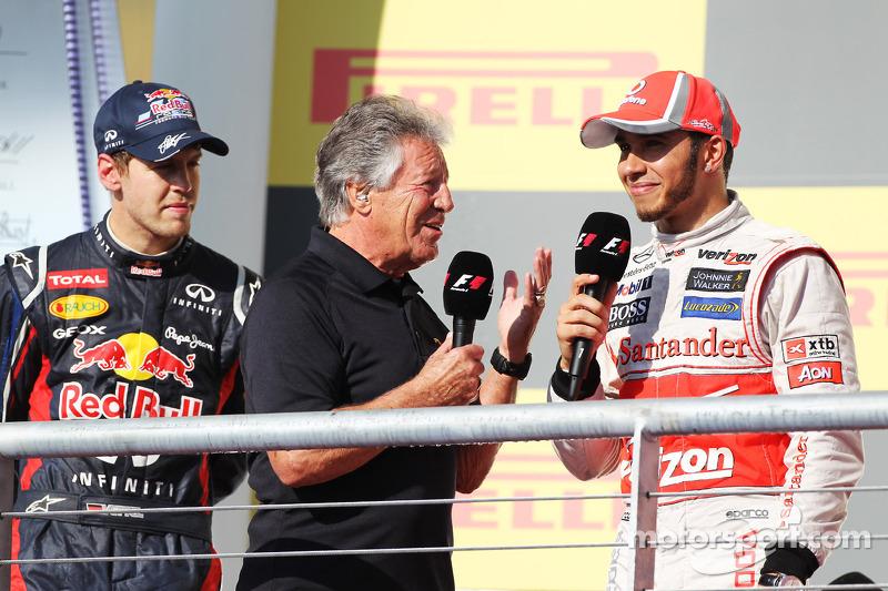 Nos Estados Unidos, em 2012, Vettel chegou em segundo e a Red Bull foi tricampeã.